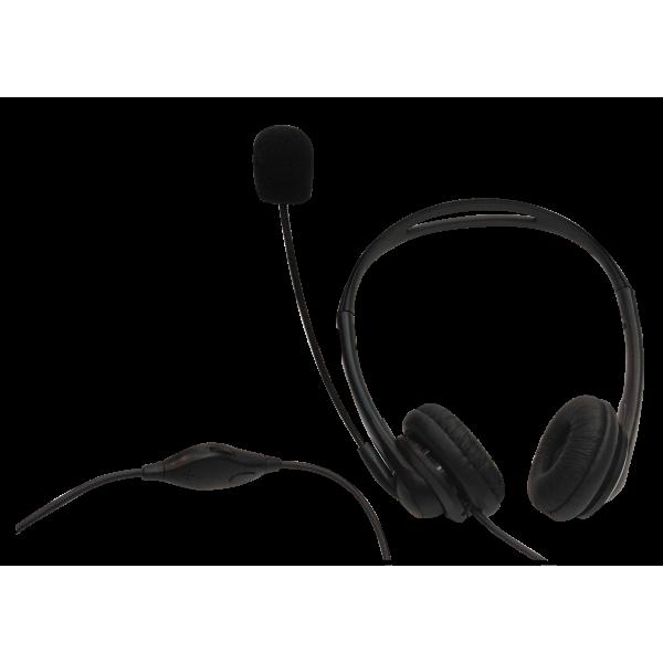 HN13HR-電話用耳麥(雙耳)